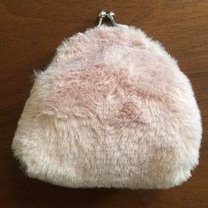 Ugg Fuzzy Coin Purse